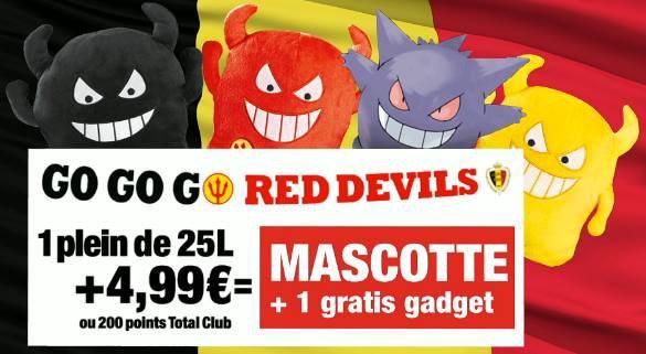 Les Diables Rouges !