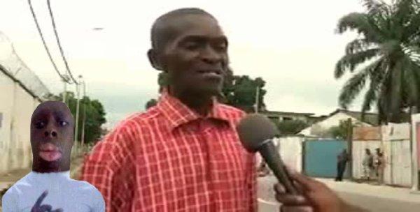 Mamadou Segpa en compagnie d'Eddy Malou !