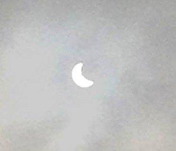 Voici à quoi ressemblait l'éclipse à Bruxelles