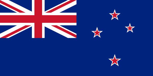 Le drapeau de la Nouvelle-Zélande (pour la console)