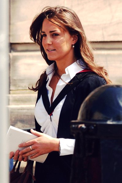 Graduation Day For William And Kate 23 June 2005 Waity