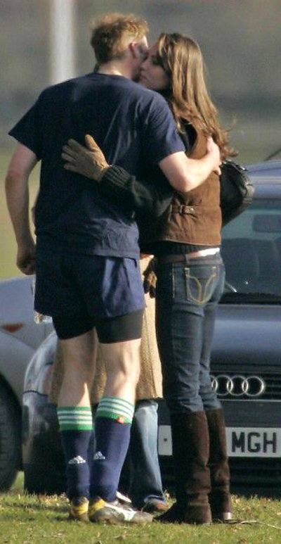 William And Kate At Eton College Old Boys' Field Game - 18 March 2006