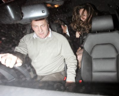 William And Fishnet Kate Leaving The Embassy Club - 20 December 2006