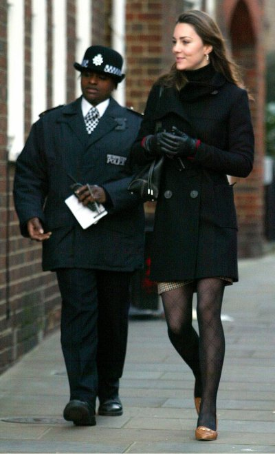 Kate Has Police Protection - 4 January 2007