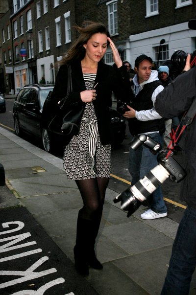 Kate Harassed By Paparazzi On Her 25th Birthday 9