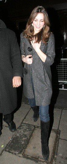 Kate And William Hit Boujis Again - 8 February 2007