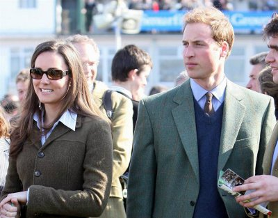 At Cheltenham, All Is Not Well Between William And Kate - 13 March 2007
