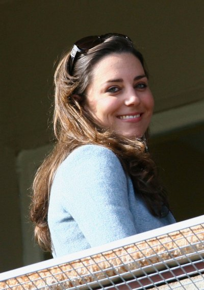 Kate Back At Cheltenham, Looking Happier - 16 March 2007