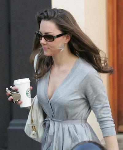 Morning Starbucks For Kate - 28 March 2007