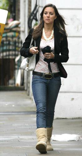 Out And About In Uggs - 17 May 2007