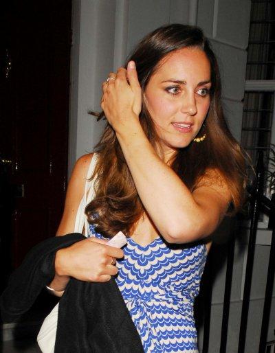 Kate Parties In Chelsea - 14 June 2007