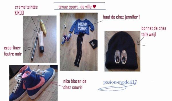 tenues de sport , de ville ♥