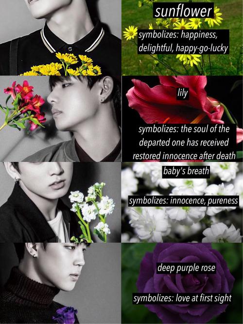 [ Hoseokcentric ] - Les fleurs