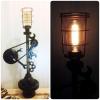 Lampe Méca Sculpture Falko