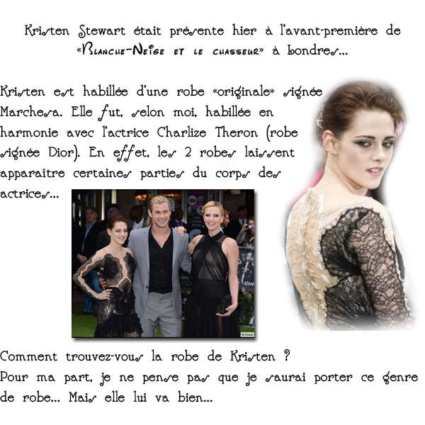 Kristen Stewart : avant-première londonienne