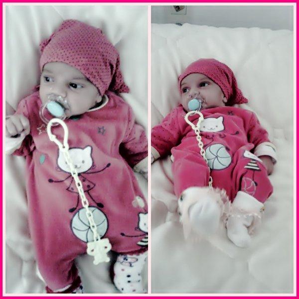 mi linda hija q guapa