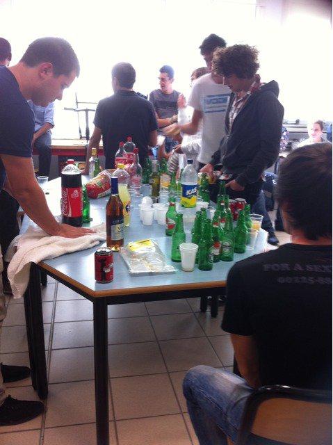la fête :)