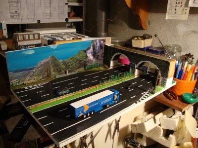nouveau diorama
