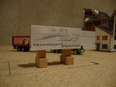 chantier transport perrier