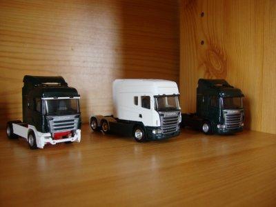 3 camions , 3 projet .... a suivre