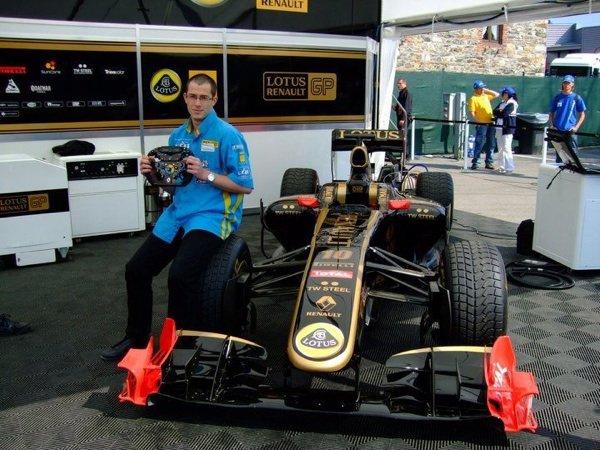 Spa 2011 lotus F1
