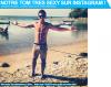 Notre Tom très sexy sur Instagram ! Notre note: 8/10 !