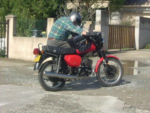 La Moto de l'Est MZ