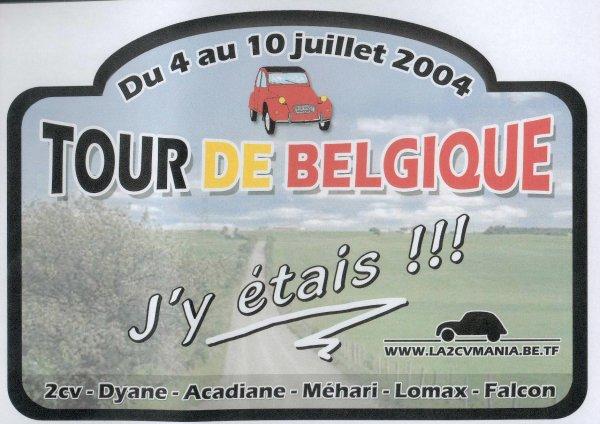 Tour de Belgique en 2 CV