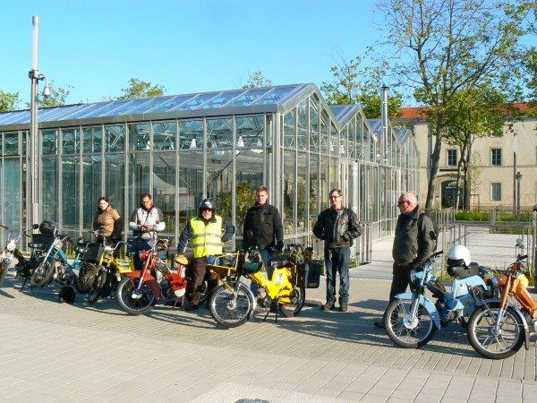 Tour de la Vendée en Mobylette