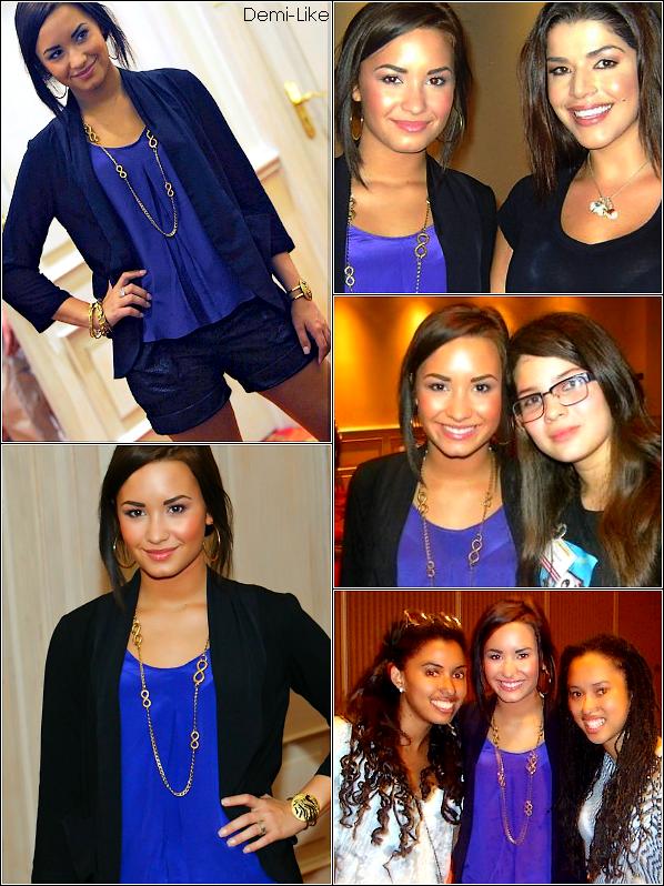 *25/1o/1o : Demi a participé à une conférence de presse à un hôtel dans San Jose au Costa Rica  *