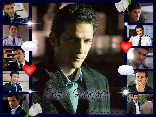 kamel belghazi dans le rôle de Enzo Ghemara