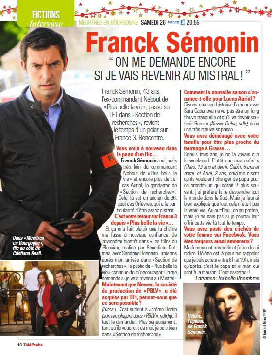 Interview de Franck Sémonin