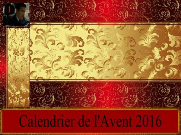 Calendrier de l'Avent 1/12/2016