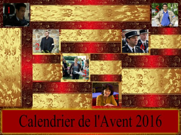 Calendrier de l'Avent 6/12/2016