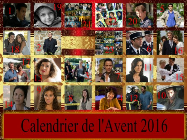 Calendrier de l'Avent 23/12/2016