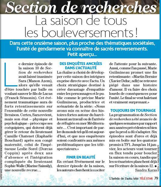 Articles de Télé Loisirs et Télé Star