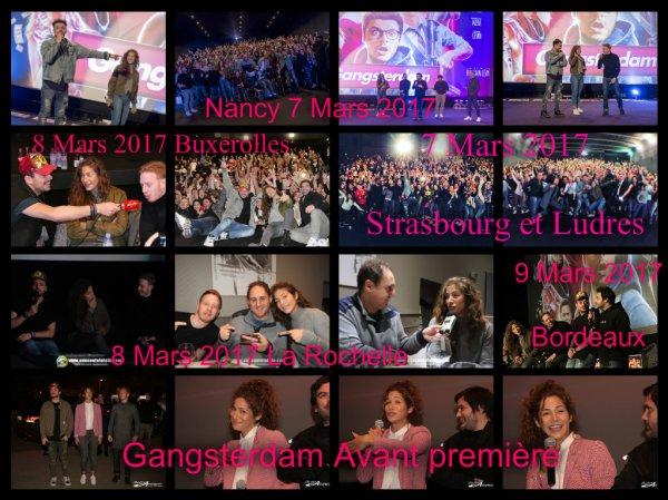 Gangsterdam Tour, (Avant-premières)