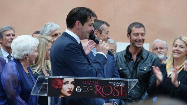 EXPO ROSE avec Franck Sémonin