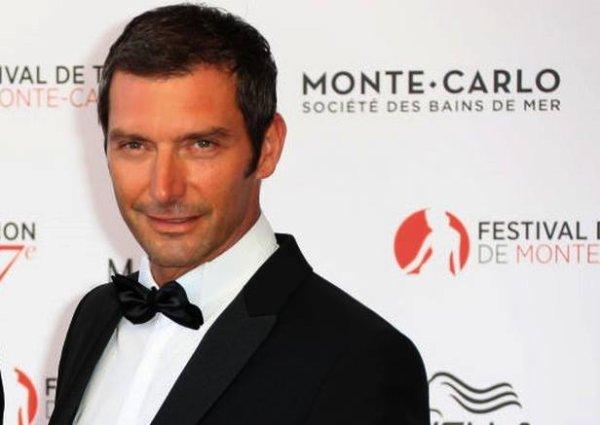 Franck Sémonin au Festival de Télévision de Monte Carlo