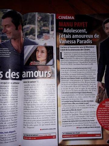 Article Télé Loisirs