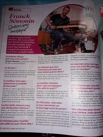 Franck Sémonin, interview musique