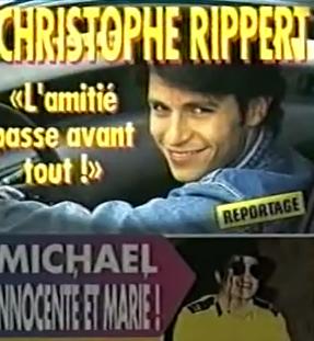 """Michael Jackson : Dans le clip """"tout va trop vite"""" de Christophe Rippert dans l'épisode """"Une situation compliquée"""" dans Premiers Baisers"""