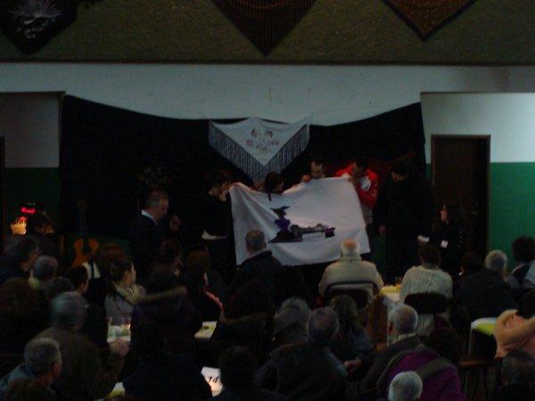 Bandeira para o gupo de teatro Xique Mat