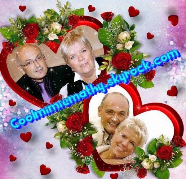 Article Blog Coolmimiemathy Bonne Saint Valentin à Mimie et Benoist