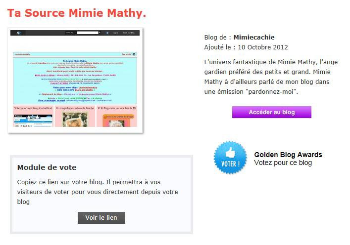 Votez pour mon blog à la battlestar de skyrock et au golden-blog-awards