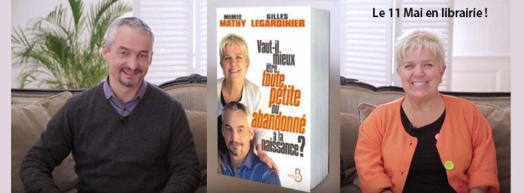 Article presse/interview  Vaut-il mieux être toute petite ou abandonné à la naissance ?   Entretien avec Mimie Mathy et Gilles Legardinier
