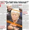 Magazine presse/interview ça fait trés trés mal - France Dimanche n°3472 mars 2013