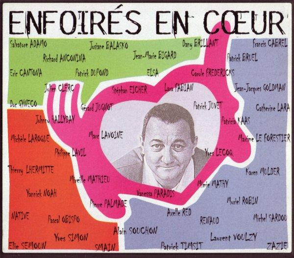 Les restos du coeur - Les Enfoirés  Paris - Zénith 1998  Enfoirés en Coeur