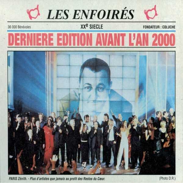Les restos du coeur - Les Enfoirés  Paris 1999  Dernière Édition avant l'an 2000