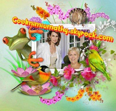 Article presse/interview    Des nouvelles de Mimie Mathy...